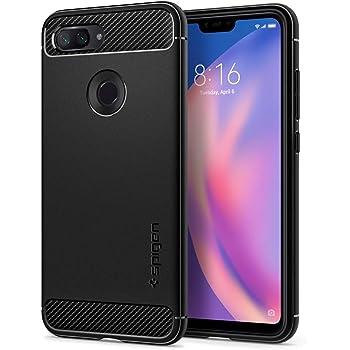 Spigen, Funda para Xiaomi Mi 8 Lite 2018, [Rugged Armor] Absorción ...