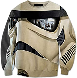 Star Wars 3D Print Mens Pullover Hoodie Limited Edition Design Sweatshirt