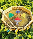 Drum Octagon - Marco chamánico (45,7 cm), diseño de búfalo