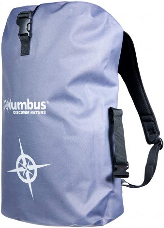 Columbus DB 25 Wasserdichter Rucksack, 25 l, für Bergsteigen, Bergsteigen und Trekking, Unisex Erwachsene, Dunkelgrau, Einheitsgre