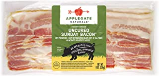 Applegate, Natural Uncured Sunday Bacon, 8oz