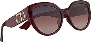 b29a38856f5ff Christian Dior DDiorF Sunglasses Opal Burgundy w Pink Lens 56mm LHFVC DDior