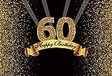 Fondo de fotografía Happy 50 40 30 25 18 Fiesta de cumpleaños Póster de Lunares Dorados Fondo de fotografía Accesorios de Estudio A10 10x7ft / 3x2.2m