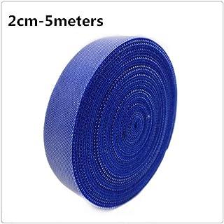 ATEYC accessori per bricolage 100mm Width gancio e fibbia senza banda di chiusura autoadesiva Velcro bianco