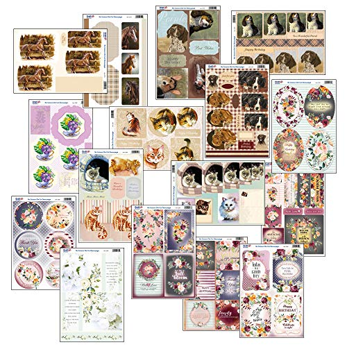 Craft UK - Kit per decoupage Decoupage.