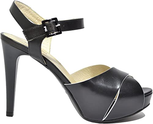 noir Giardini Sandales Escarpins femme Noir Elégant P615790DE 5790