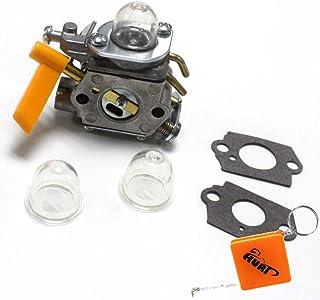 Hippotech Carburateur C1M-H58 avec joints et conduite de carburant pour Ryobi Homelite 308070001 985597001 38cc 46cc Tron/çonneuse