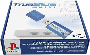 OATop True Blue Mini Crackhead Pack para Playstation Classic, PS1 Mini, 101 Juegos, 64G