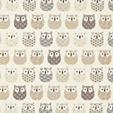 Fabulous Fabrics Baumwollstoff Cretonne Eulen –