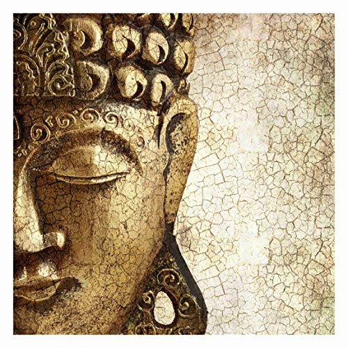 Bilderwelten Fotomural - Vintage Buddha - Mural cuadrado papel pintado fotomurales...