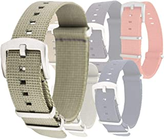 Orca Waffle Weave Nylon Watch Bands - Multiple Sizes and Colors