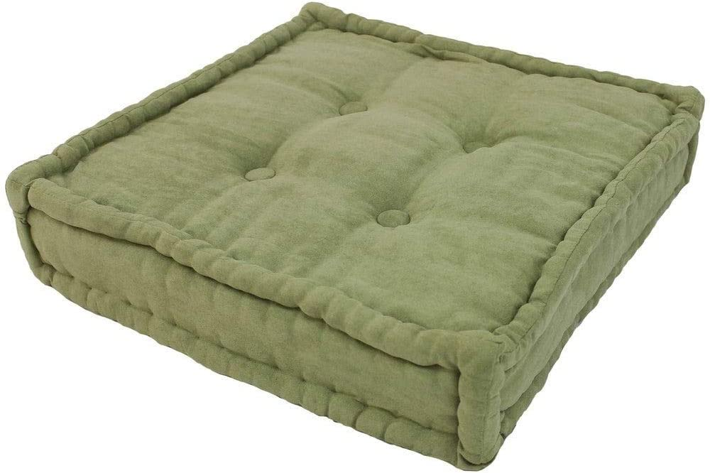 New product!! 20 Limited price Inch Traditional Microsuede Fabric Large Pillow Square Floor