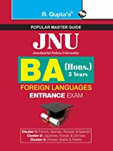 JNU BA (Hons.) in Foreign Languages Entrance Examination Guide