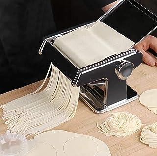 Picknickväska Pasta tillverkare, manuell nudelmaskin Liten hem deg rullar rostfritt stål Nudelskärare Färsk pasta Maskin f...