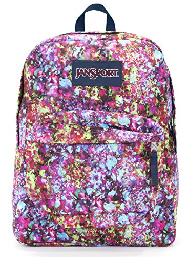Jansport Superbreak Backpack (multi flower explosion)