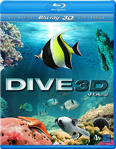 Dive 3D - Part 2 (3D Bd) [Blu-ray] [2017] [Region Free]