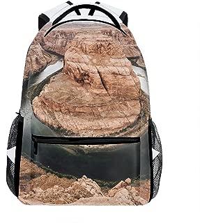 School Backpack Classic Travel Laptop Horseshoe Bend Canyons Arizona Backpack Rucksack Middle School Bookbag