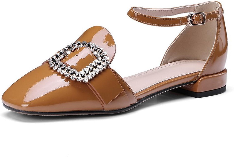 AdeeSu Womens Toggle Beaded Fashion Urethane Sandals SLC03955