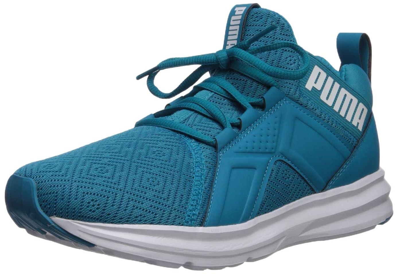 PUMA Women's Enzo Sneaker, caribbeansea-w, 8 M US