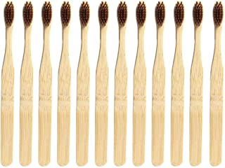 Bamboo Toothbrush,Natural Wooden ECO Friendly Toothbrush Mad