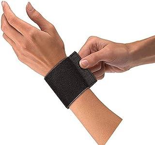 Mueller Elastic Wrist Support with Loop, Black, OSFM
