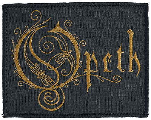 Opeth Logo Unisex Patch Mehrfarbig 100% Polyester Band-Merch, Bands