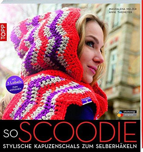soScoodie: Stylische Kapuzenschals zum Selberhäkeln