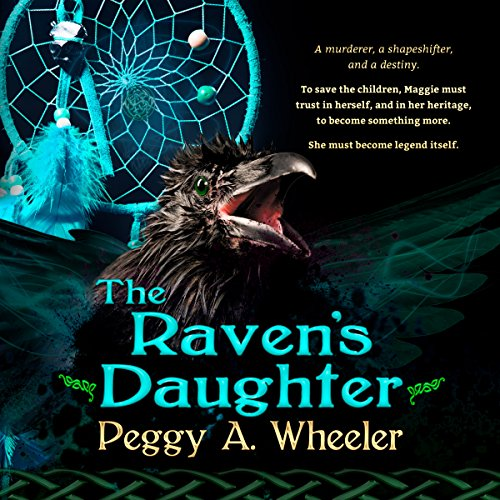 The Raven's Daughter audiobook cover art