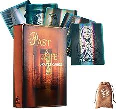 Holografiska förflutna livet Oracle kort Tarot Card Divination Fate Entertainment Table Board Deck Games Holiday Family Pa...