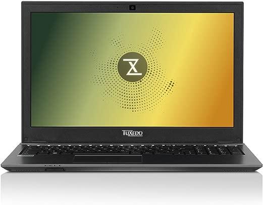 TUXEDO 10900089LIT BS1507 Light 100 63 cm  39 62 Zoll  Laptop  Intel Core i7-7700HQ  250GB Festplatte  8GB RAM  Intel HD Graphics 630  Linux  Schwarz