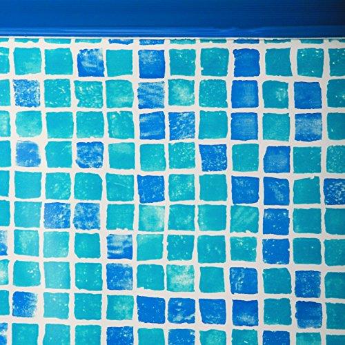 Gre FPROV737 - Liner pour piscines ovales, 730 x 375 x 132 cm (Longueur x Largeur x Hauteur), couleur Gresite