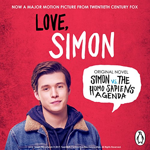 Simon vs. the Homo Sapiens Agenda audiobook cover art