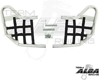Yamaha YFZ 450 (2004-2009) (2012-2013) Standard Nerf Bars Silver w/Black Net