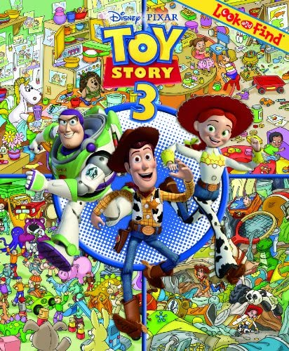 Toy Story 3 Look and Find product image