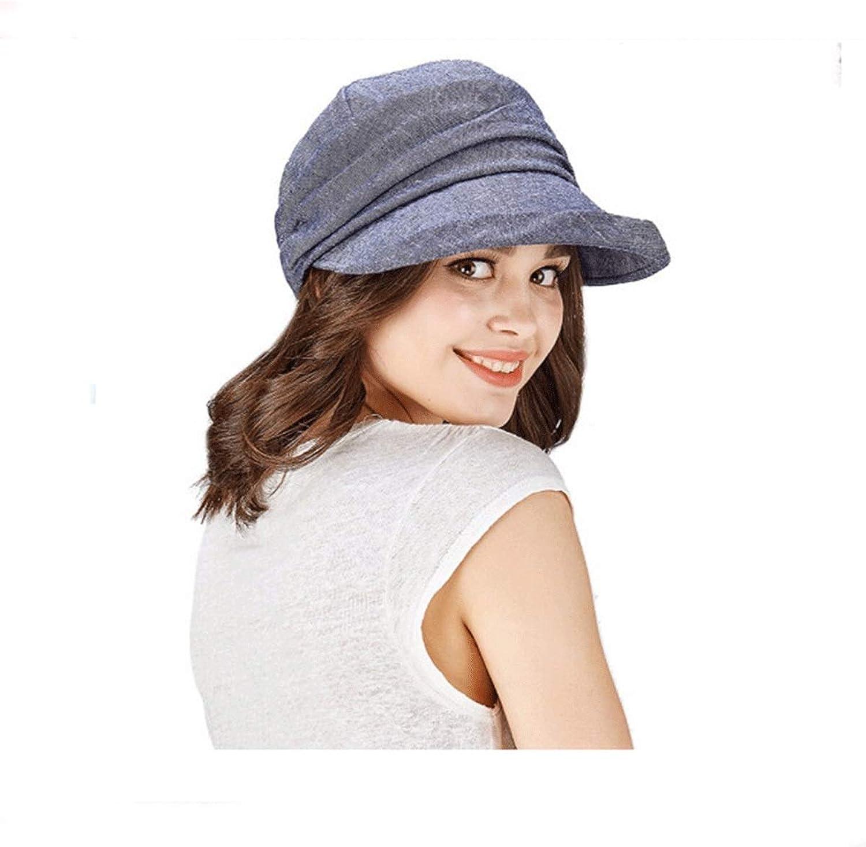 Huijunwenti Hat, Female Spring and Summer Flat Cap, Mom Hat,Big Beret, Multiple colors, Best Gift Outdoor Essential