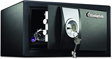 SentrySafe X031 Security Safe with Key Lock, 0.35 Cubic Feet, Black