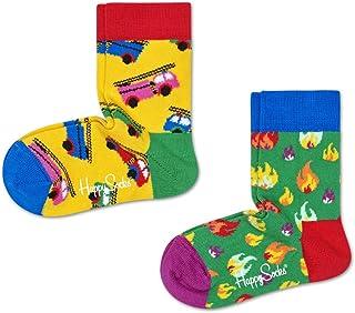 Happy Socks - Calcetines para niño - Colección de moda - Bi-Pack