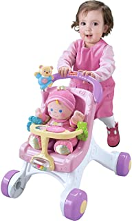 Fisher-Price Brilliant Basics Stroll-Along Walker (Renewed)