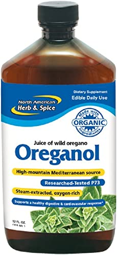 North American Herb and Spice, Juice of Oregano, 12 oz. product image