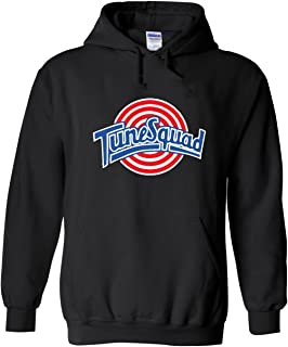 The Silo Black Space Jam Tunesquad Hooded Sweatshirt