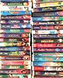 33 Walt Disney's Masterpiece Collection Vhs