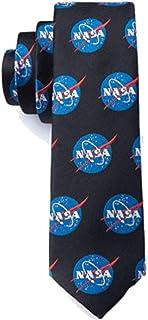 Boy's Black NASA Logo Space Astronomy Officially Licensed Necktie Tie Neckwear