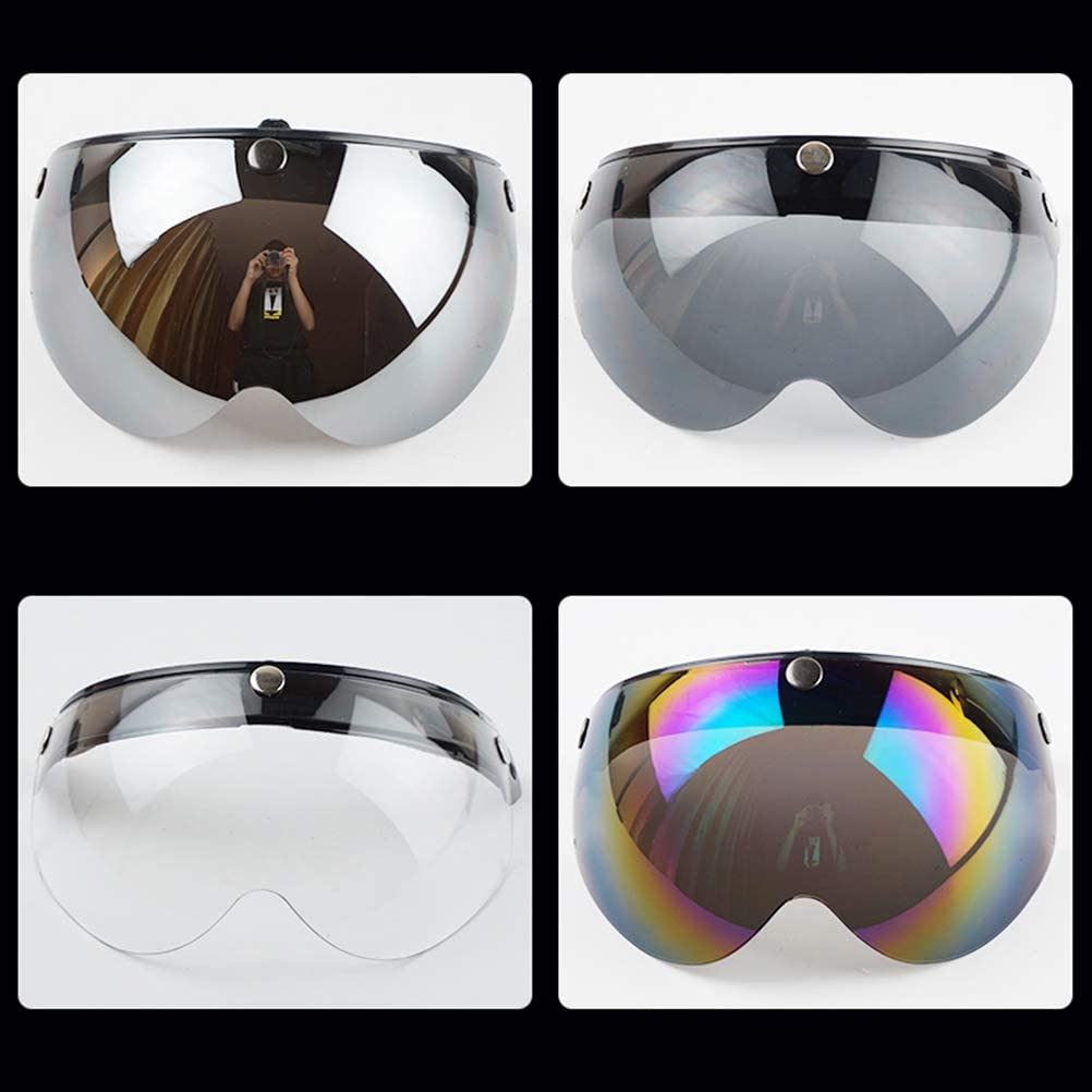 Max 47% OFF Chrees Novelty Helmets Visor Super popular specialty store Shield Motorcycles 3 for Universal