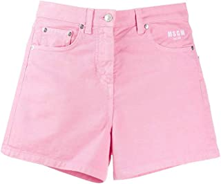 MSGM Luxury Fashion Womens 2841MDB48T20727612 Pink Shorts |