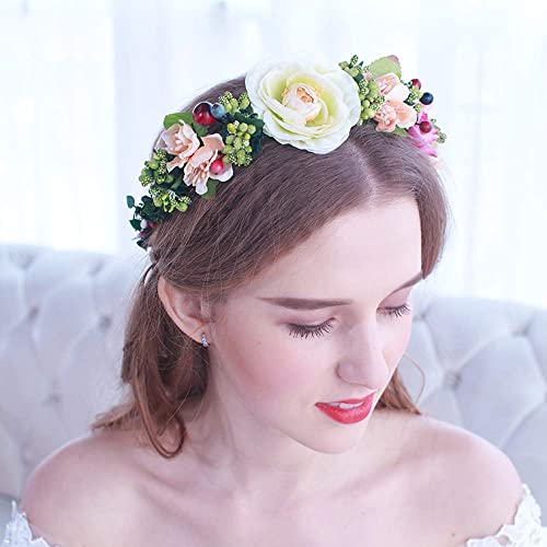 AA-SS- Wohommes Headpiece Ensemble de Bijoux de Couronne de mariée Accessoires de Mariage Couvre-Chef Couronne de Bijoux de mariée
