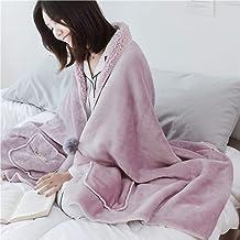 Wearable Blanket with Pocket, Lightweight Oversized Sweatshirt Blanket Throw, Fleece Sherpa Blanket for Womens, Children, ...