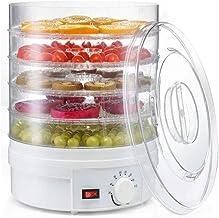 Machine de conservation des aliments ménagers Déshydrateur de nourriture, déshydrateur de nourriture de 5 plateaux avec le...