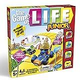 Hasbro Gaming- Game of Life Junior Gaming Clasico Juego de Mesa, Multicolor, Miscelanea (B0654SC5)