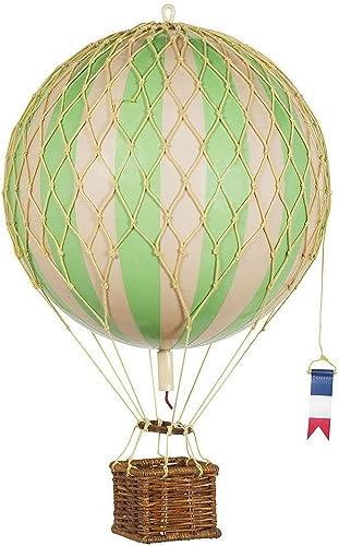 Authentic Models - Dekoballon - Jules Verne - Ballon Grün - 32 cm Durchmesser
