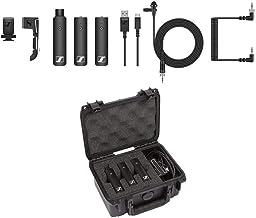 Sennheiser XSW-D Wireless ENG Set, Includes 3.5mm Bodypack Transmitter, XLR Female Plug-On Transmitter, 3.5mm Camera-Mount...